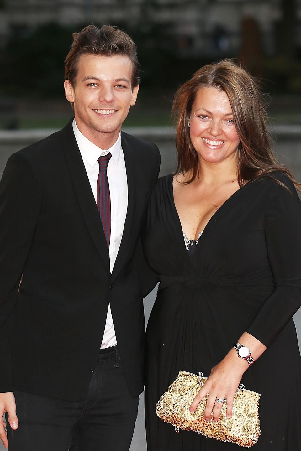 Louis Tomlinson's mother Johannah died in 2016. (Photo by Dave J Hogan/Getty Images)