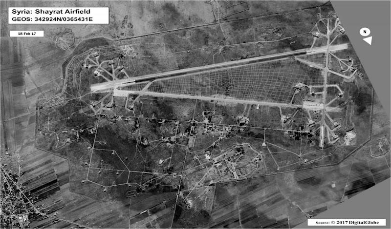 Homs airfield