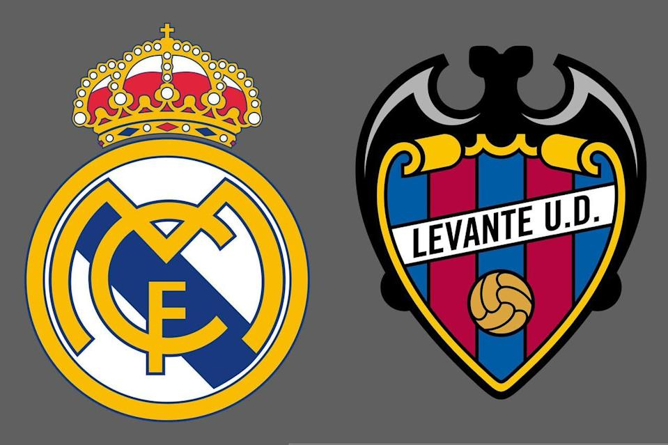 Real Madrid-Levante