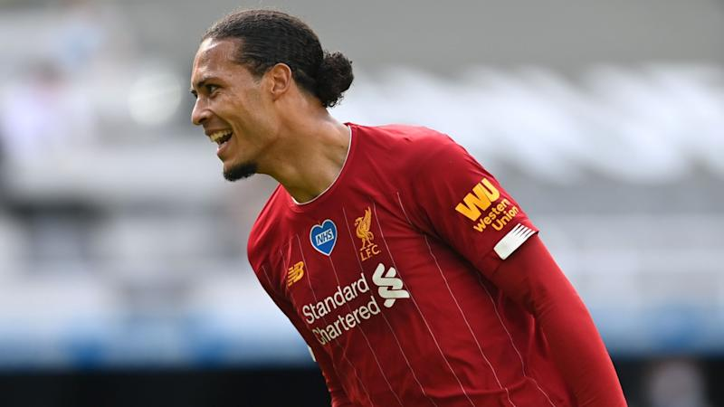 Van Dijk excited for new season after 'outstanding' final Liverpool win