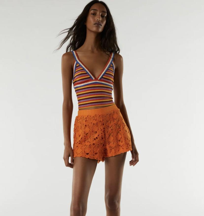<p>How cute is this <span>Zara Striped Crochet Top</span> ($26)? I saw a fashion influencer try it on and it looks just as goon IRL as it does in the product shots.</p>