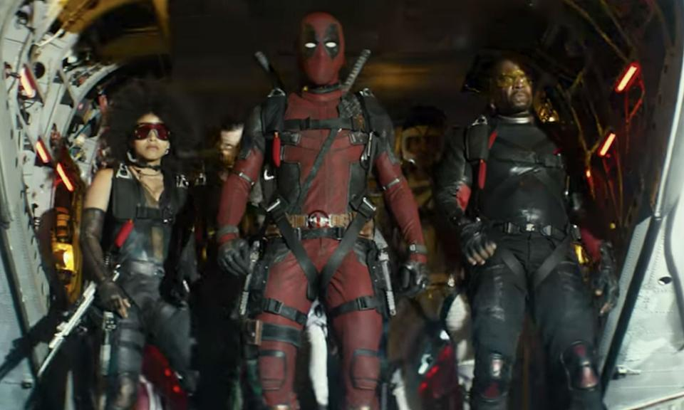 Deadpool's second outing did what sequels typically do by going bigger, harder and louder. Reynolds' antihero creates the X-Force to protect a young mutant from the time-traveling Cable and its packed to the brim with fun and gory fight scenes to rival the first. Sadly David Leitch's film is too full of meta jokes and one-liners that you feel like you're getting wit-lash after 20 minutes. (Credit: 20th Century Fox)