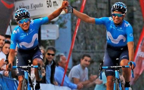 Richard Carapaz and Mikel Landa - Giro d'Italia 2019: Who are the six riders we are predicting may win? - Credit: EPA