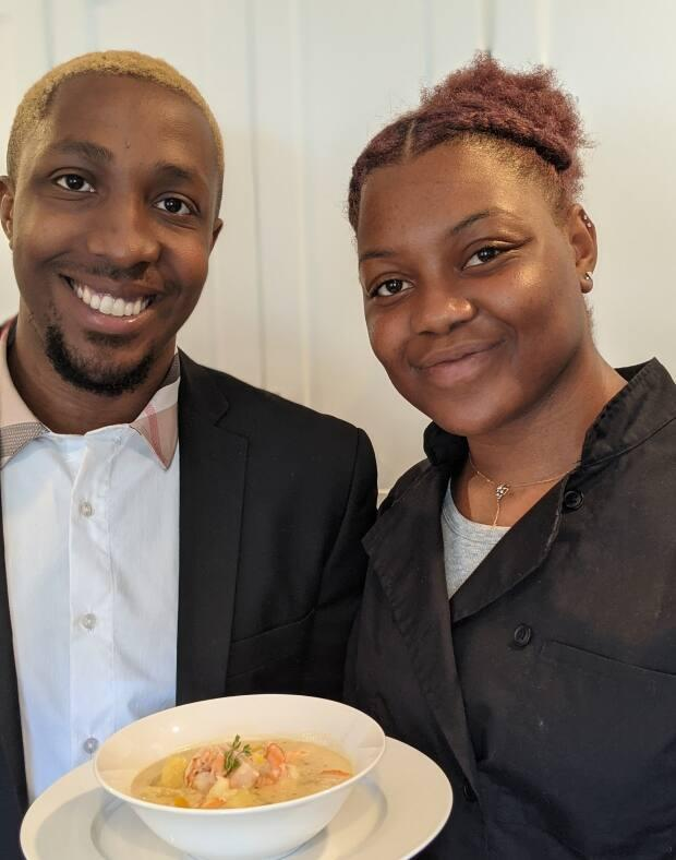 Nathan Thomas and Shauna Bowens are offering a room for rent in their newly renovated home - with a home-cooked meal prepared daily by Bowens, who's a trained chef. (Submitted by Nathan Thomas - image credit)