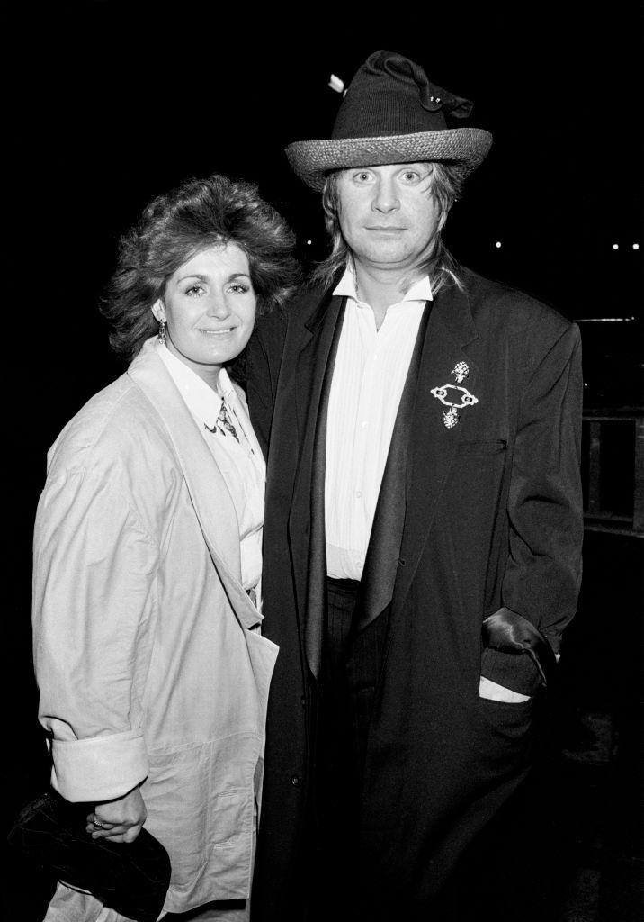 Ozzy Osbourne and wife Sharon Osbourne, pictured in 1985, were married in 1982. (Photo: Dave Hogan/Getty Images)