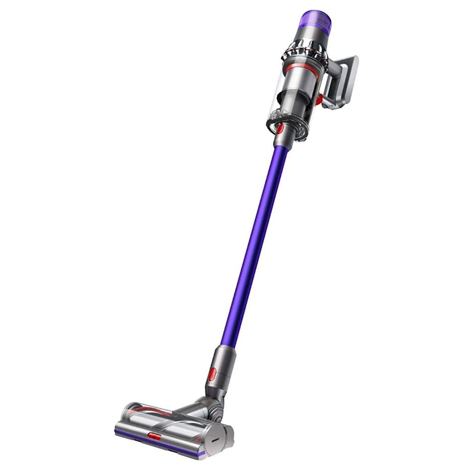 "<p><strong>Dyson</strong></p><p>dyson.com</p><p><strong>$599.99</strong></p><p><a href=""https://go.redirectingat.com?id=74968X1596630&url=https%3A%2F%2Fwww.dyson.com%2Fvacuum-cleaners%2Fsticks%2Fdyson-v11-stick%2Fdyson-v11-animal&sref=https%3A%2F%2Fwww.bestproducts.com%2Ftech%2Fgadgets%2Fg293%2Fbest-tech-gifts-at-every-price%2F"" rel=""nofollow noopener"" target=""_blank"" data-ylk=""slk:Shop Now"" class=""link rapid-noclick-resp"">Shop Now</a></p><p>The Dyson V11 Animal cordless vacuum is the ultimate tech gift for a neat freak. Part versatile cleaning tool and part technological marvel, the it is capable of delivering up to 60 minutes of runtime between charges. Not to mention, it looks great, too.</p><p>Best of all, thanks to a built-in LED display, the vacuum allows users to keep tabs on the remaining battery life, as well as to effortlessly control its suction power. An intelligent cleaning mode is also available.</p>"