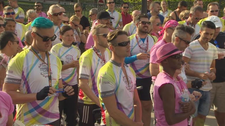 Riding for a cause: Hundreds biking to Montreal to raise money for HIV/AIDS