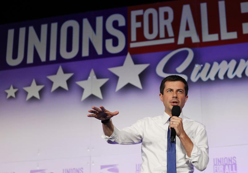 """The Buttigieg campaign staff union will represent workers with the title of """"organizer."""" (Photo: Mario Tama via Getty Images)"""