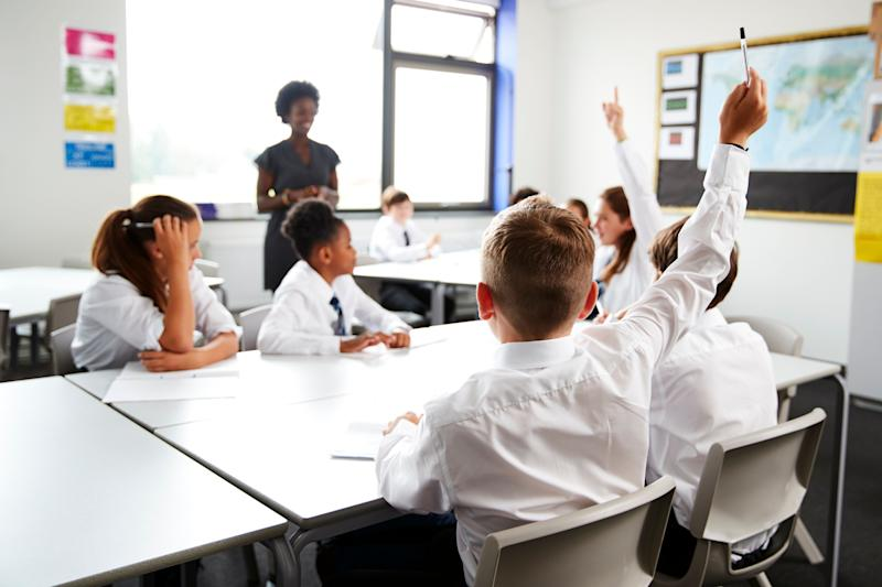 Some pupils are due to return to the classroom on Monday.  (Photo: monkeybusinessimages via Getty Images)