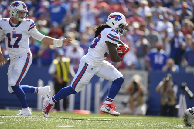 Chris Ivory unexpectedly went off at Minnesota, filling in for LeSean McCoy. (AP Photo/Adrian Kraus)
