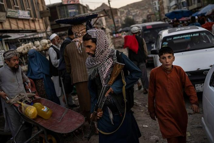 A month after the fall of Kabul, the question of how the world will get aid to citizens without enriching Afghanistan's Taliban rulers is haunting the country (Copyright 2021 The Associated Press. )