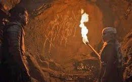 The Dragonstone cave paintings were found by Jon Snow in season seven