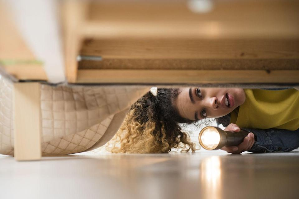 <p>If it was there a second ago, the search would be over. It's more likely that it was there two days ago and has since been moved — or you're just plain forgetful.</p>