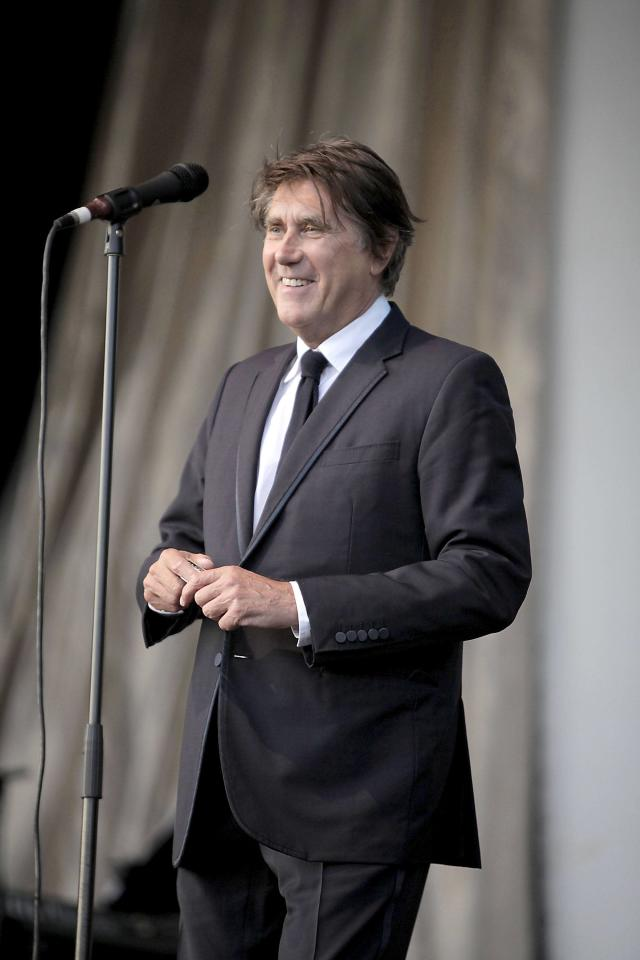 Bryan Ferry performing at GuilFest 2012 at Stoke Park - Day 3 Guildford, England - 15.07.12 Mandatory Credit: Ricky Swift/WENN.com