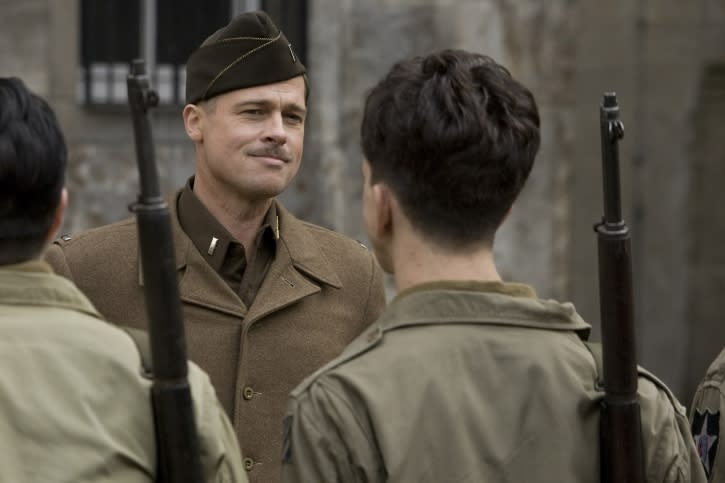 Brad Pitt was supposed to star in Kick-Ass, but chose Inglorious Basterds instead (Image by Universal Pictures)