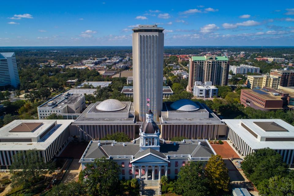 tallahassee florida state capitol buildings