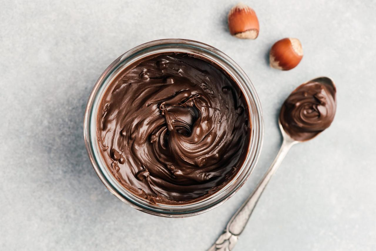 "<p>Chocolate contains a high dose of magnesium, which has proven to help <a href=""https://www.popsugar.com/fitness/What-Do-Chocolate-Cravings-Mean-40855133"" target=""_blank"" class=""ga-track"" data-ga-category=""internal click"" data-ga-label=""http://www.popsugar.com/fitness/What-Do-Chocolate-Cravings-Mean-40855133"" data-ga-action=""body text link"">soothe cramps and period pain</a>, but it can also be a common migraine trigger. ""Chocolate carries caffeine, which can help with migraines acutely, but long-term <a href=""http://virginiathornleymd.com"" target=""_blank"" class=""ga-track"" data-ga-category=""internal click"" data-ga-label=""http://virginiathornleymd.com"" data-ga-action=""body text link"">it will prolong the migraine cycle</a> and could possibly make it worse,"" Virginia Thornley, MD, a board-certified neurologist and epileptologist in Florida, told POPSUGAR.</p> <p>If you are craving chocolate, it's best to opt for dark chocolate, as it has healthier properties and benefits like <a href=""https://www.popsugar.com/fitness/Benefits-Dark-Chocolate-21652693"" target=""_blank"" class=""ga-track"" data-ga-category=""internal click"" data-ga-label=""http://www.popsugar.com/fitness/Benefits-Dark-Chocolate-21652693"" data-ga-action=""body text link"">regulating blood pressure</a> and fighting fatigue prior to working out.</p>"