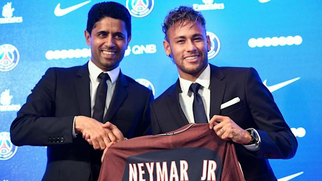 Neymar's move to PSG has not gone to plan
