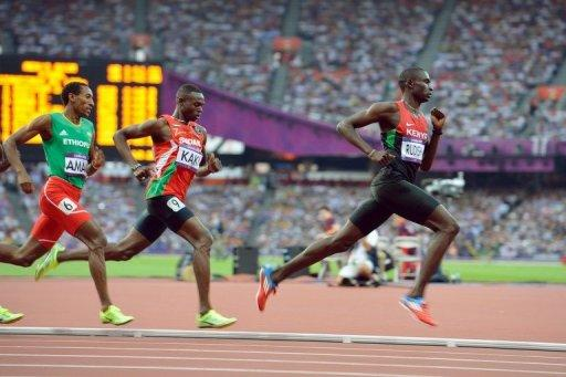 Despite David Rudisha's victory, Kenya were 28th in the Olympic medals table