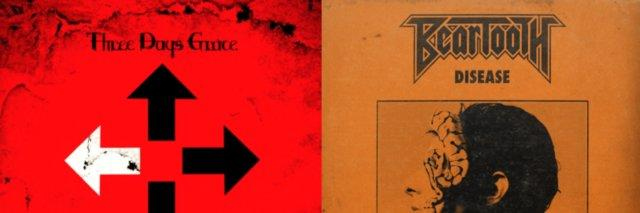 album covers of nine inch nails and three days grace