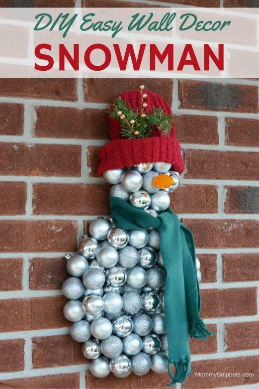 "<p>Ornaments aren't just for your tree. In fact, this DIY wall decor proves they make an even better craft supply.</p><p><strong>Get the tutorial at <a href=""https://mommysnippets.com/snowman-wall-decoration/"" rel=""nofollow noopener"" target=""_blank"" data-ylk=""slk:Mommy Snippets"" class=""link rapid-noclick-resp"">Mommy Snippets</a>.</strong></p><p><strong><a class=""link rapid-noclick-resp"" href=""https://www.amazon.com/AMS-Christmas-Ornaments-Decoration-Shatterproof/dp/B017NMAZLQ/?tag=syn-yahoo-20&ascsubtag=%5Bartid%7C10050.g.22825300%5Bsrc%7Cyahoo-us"" rel=""nofollow noopener"" target=""_blank"" data-ylk=""slk:SHOP ORNAMENTS"">SHOP ORNAMENTS</a><br></strong></p>"
