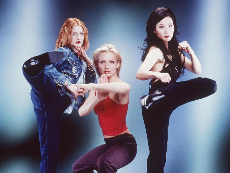 Thandie Newton was considered for the role of Alex Munday, played by Lucy Liu, far right.