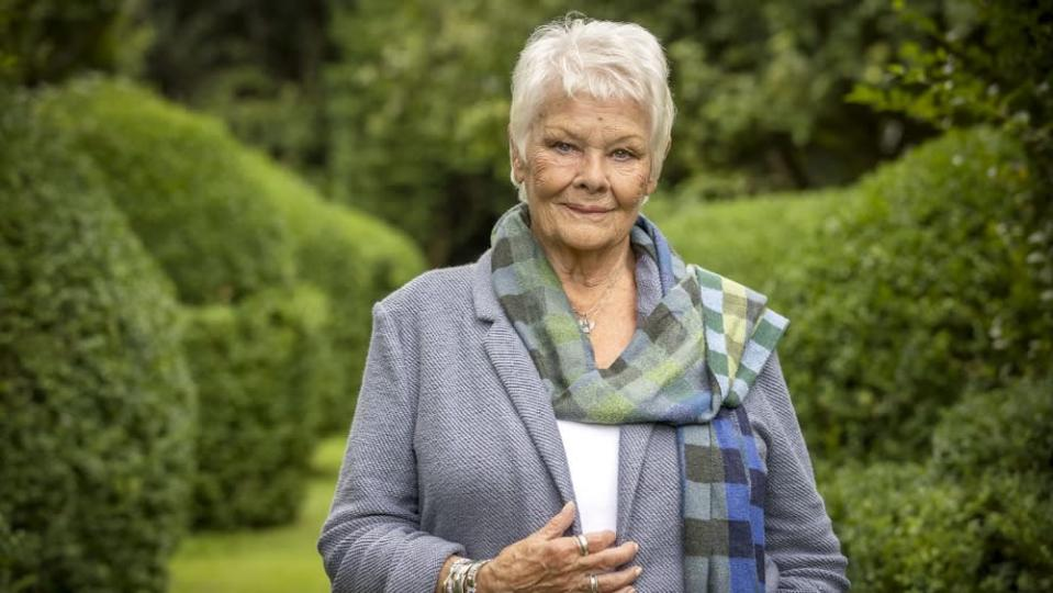 """Judi Dench – """"Who Do You Think You Are? - Credit: BBC"""