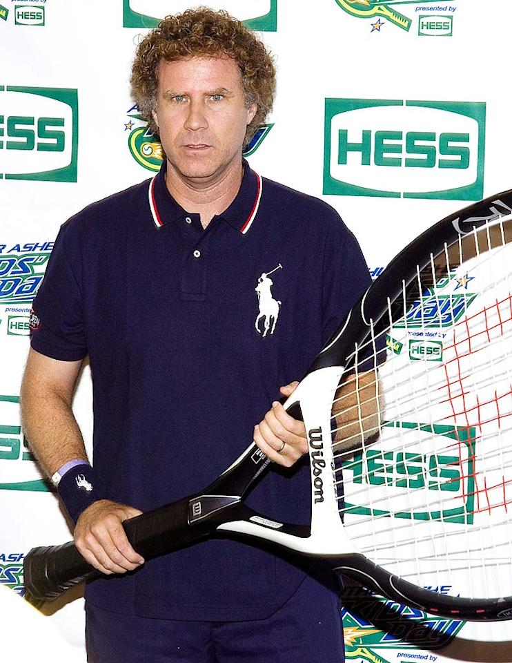 "Funny man Will Ferrell is more of a consumer when it comes to green goodies. The ""Saturday Night Live"" alum was one of the first celebs to drive a BMW Hydrogen 7, which is designed to use less gas than most luxury cars. Steven A Henry/<a href=""http://www.wireimage.com"" target=""new"">WireImage.com</a> - August 29, 2009"