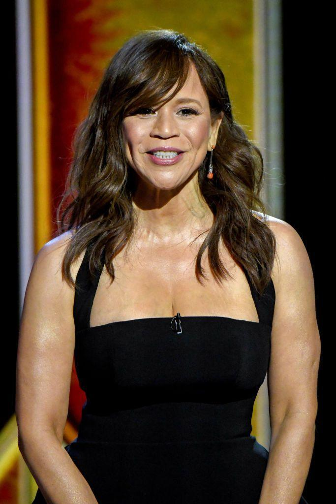 <p>Keep your brunette hair color cool-toned like <strong>Rosie Perez</strong>. This color looks natural, but lighter brunette tones add tons of dimension to create contrast. </p>