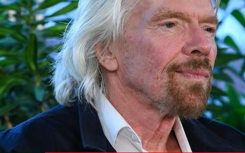 Sir Richard Branson  - Credit:  James D. Morgan/Getty