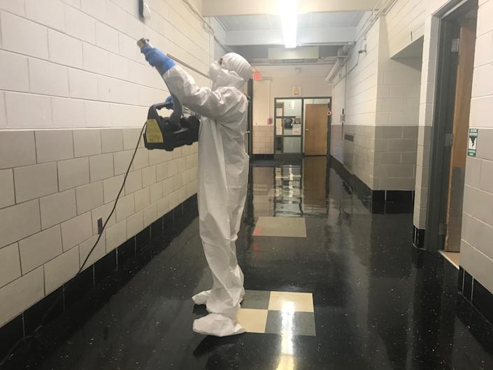 Rytech also specializes in mold remediation, water damage repairs and fire restoration. Image via John Ferak/Patch