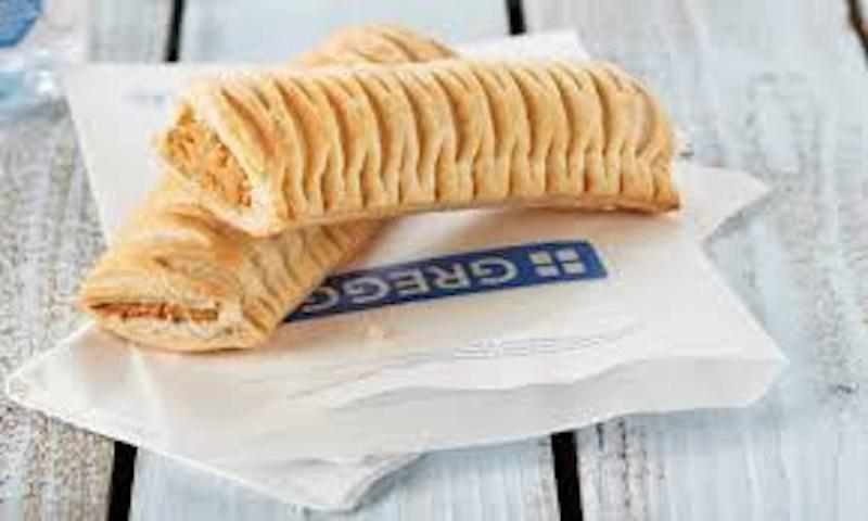 The now iconic Greggs vegan sausage roll. Photo: Greggs