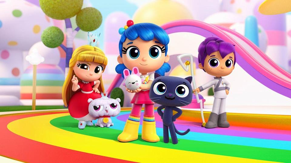 "<p>True and her best-friend Bartleby have wish-granting powers, and they use them to help their friends. This cute, colorful series is focused on kindness, compassion, and empathy.</p><p><a class=""link rapid-noclick-resp"" href=""https://www.netflix.com/watch/80186858"" rel=""nofollow noopener"" target=""_blank"" data-ylk=""slk:WATCH NOW"">WATCH NOW</a></p>"
