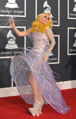 Lady Gaga Grammys 2010. Photo credit: Getty Images