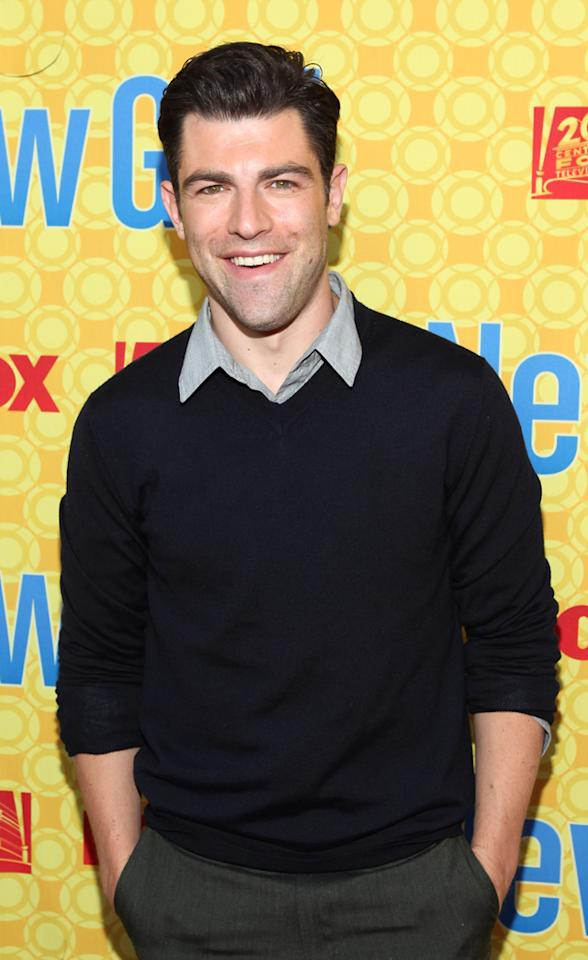 "Max Greenfield arrives at the ""New Girl"" screening hosted by The Academy of Television Arts  & Sciences at the Leonard H. Goldenson Theatre on May 7, 2012 in  North Hollywood, California."