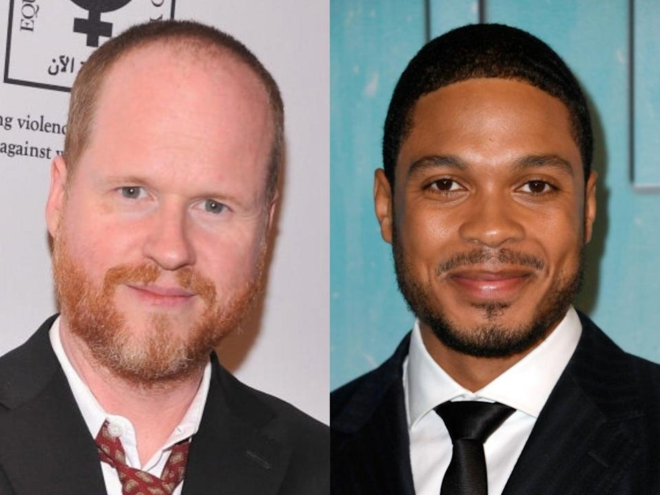 Joss Whedon and Ray Fisher (Fernando Leon/Frazer Harrison/Getty Images)
