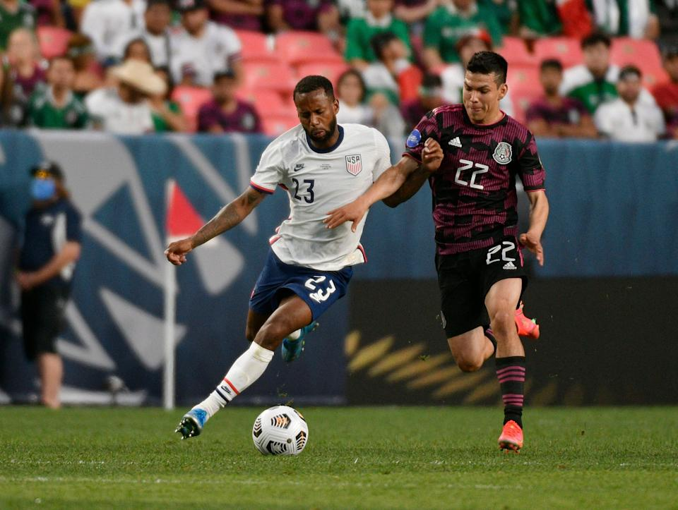 Midfielder Kellyn Acosta (23) played a big role in the USMNT's winning of the Concacaf Nations League title game over Mexico, and also will take part in the Gold Cup.