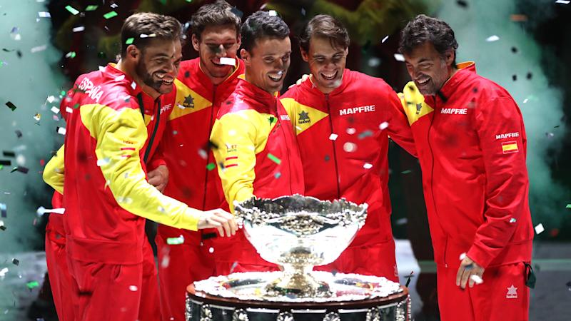 Nadal hails Spain's 'unforgettable' Davis Cup win
