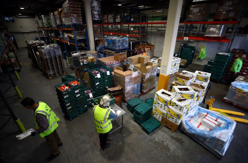 Britain's food banks prepare for surge in demand as millions lose their jobs