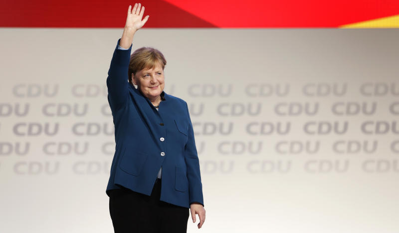 German chancellor Angela Merkel's party elects new leader after 18-year reign
