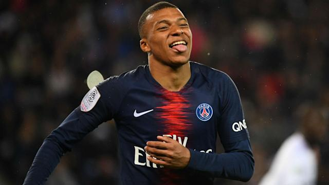 Linked with a move to Real Madrid, Kylian Mbappe hinted at a Paris Saint-Germain stay.
