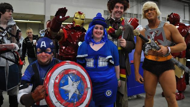 Fans attend Fan Expo Canada in Toronto, while donning homemade costumes. (CBC)