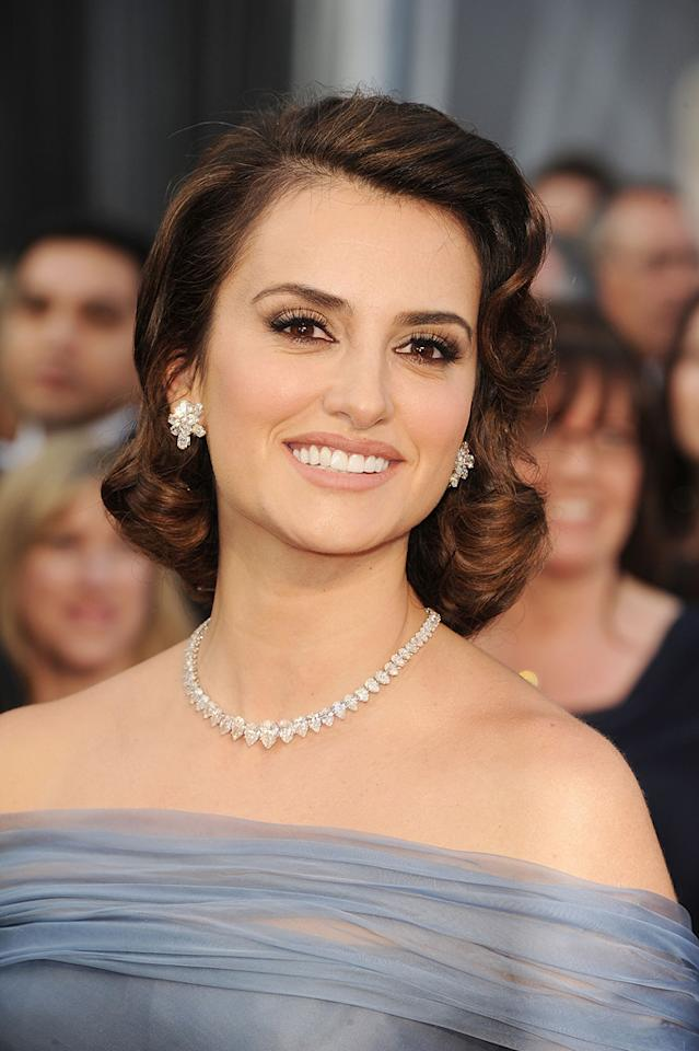 Penelope Cruz arrives at the 84th Annual Academy Awards in Hollywood, CA.