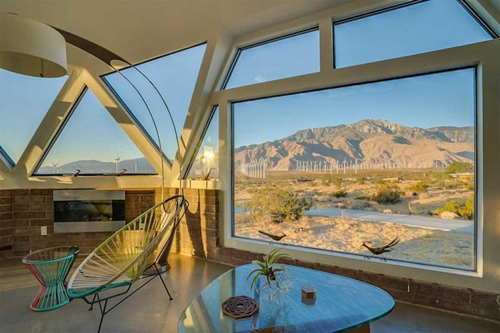 Palm Springs Dome Home