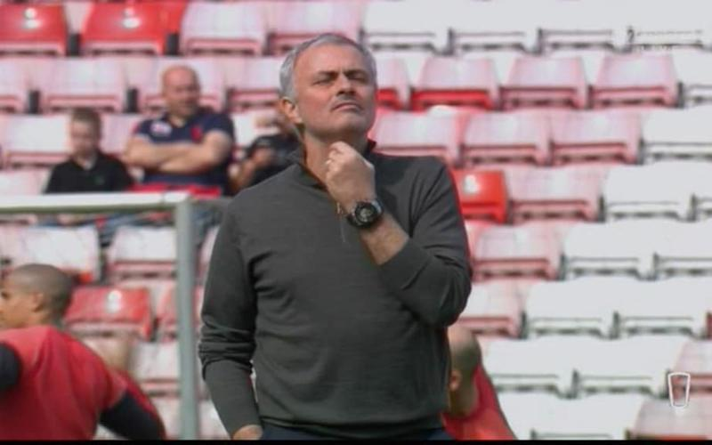 Jose Mourinho thinking - Credit: Sky Sports