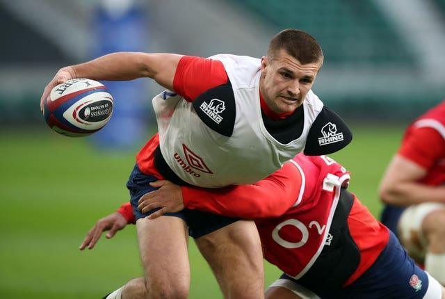 The Exeter Chiefs centre suffered an injury during training