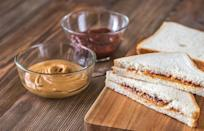 """<p>A peanut butter and jelly sandwich should be <a href=""""https://www.thedailymeal.com/cook/americas-25-favorite-home-cooked-dishes?referrer=yahoo&category=beauty_food&include_utm=1&utm_medium=referral&utm_source=yahoo&utm_campaign=feed"""" rel=""""nofollow noopener"""" target=""""_blank"""" data-ylk=""""slk:the easiest recipe"""" class=""""link rapid-noclick-resp"""">the easiest recipe</a> in the world. You just take two slices of bread and slather them with peanut butter and jelly. But apparently there is more than one way to do everything, including making a basic sandwich. Some people will take one piece of bread, add peanut butter, put jelly on top of the peanut butter and then add the final slice of bread. Others will put peanut butter on one slice of bread, put jelly on the second slice of bread and then bring the two pieces together. How do you make yours?</p>"""