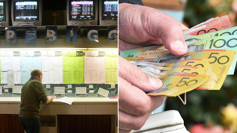A Melbourne punter won a small fortune on the Melbourne Cup with a correct first four bet.