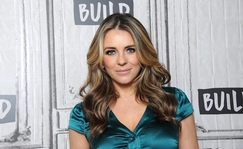 Elizabeth Hurley and her son Damian look like literal twins in this family photo