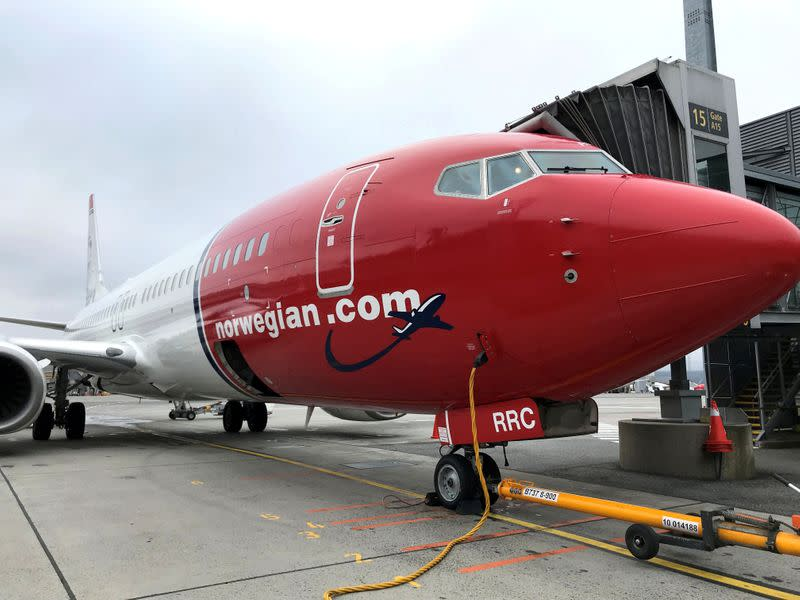 Norwegian Air to cut 4,000 extra flights and lay off half its staff